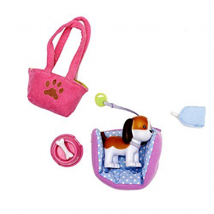 Lottie Doll Accessory Set - Biscuit The Beagle